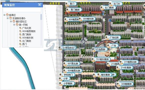 晋江三维电子地图